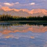 Sunrise Banff, Alberta, Canada
