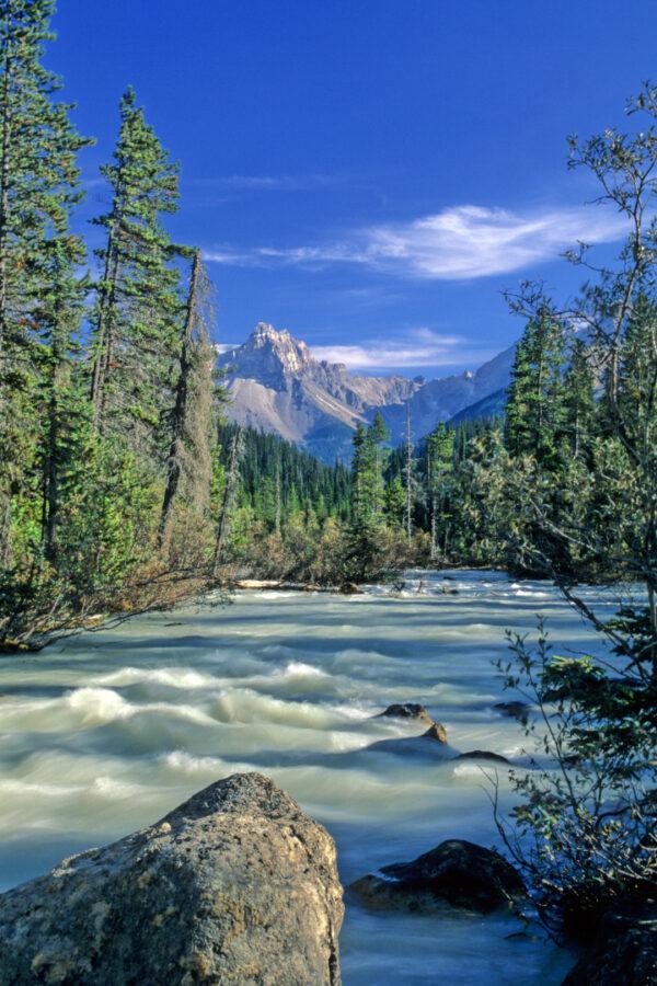 Tatakkaw River, Alberta Canada