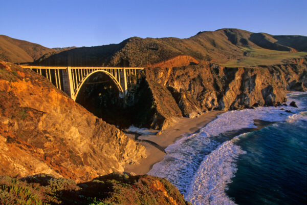 Sunset, Bixby Bridge, Big Sur California