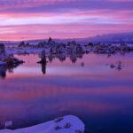 Sunrise Mono Lake, CA.