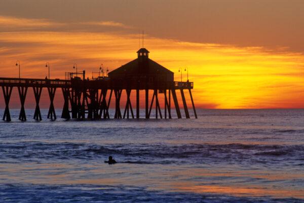 Sunset Imperial Beach San Diego, CA