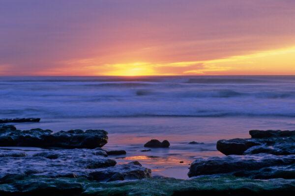 Sunset at Torrey Pines State Park San Diego, CA