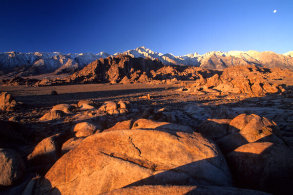 Sunrise Alabama Hills, Lone Pine California