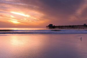 Sunset Oceanside Pier, Oceanside California