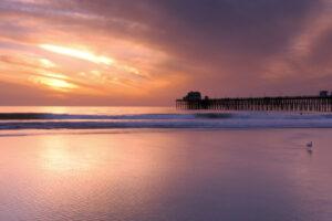 Sunset Oceanside Pier, Oceanside California