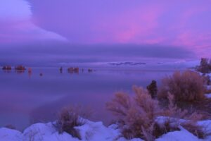 Sunrise, Mono Lake California